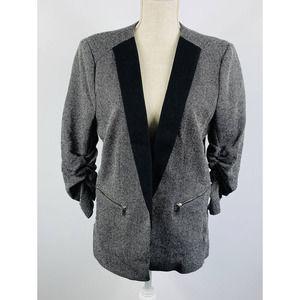 Womens H&M Gray Blazer Size 14